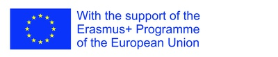 Logo Erasmus With the support of the Eramus+ Programme of the European Union L
