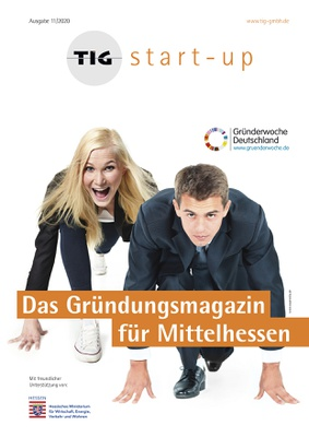 TIG Start Up Magazin Ausgabe 1 Titel small