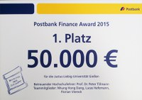 Postbank Finance Award