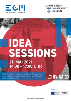 Idea Sessions Sommersemester 2021