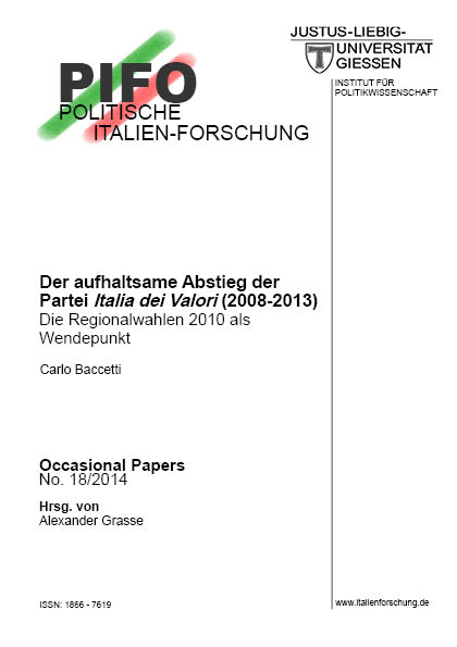 Occasional Papers Nr. 18