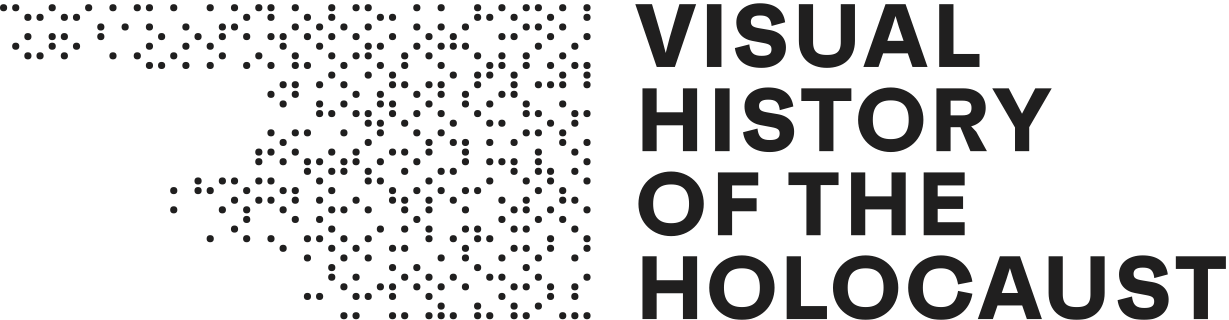 Visual History of the Holocaust Logo