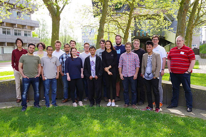 Genomics course 2018 group picture