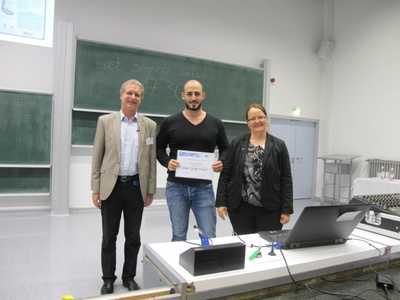 Best Poster Award GGL AC 2016 Mathias Seidensticker