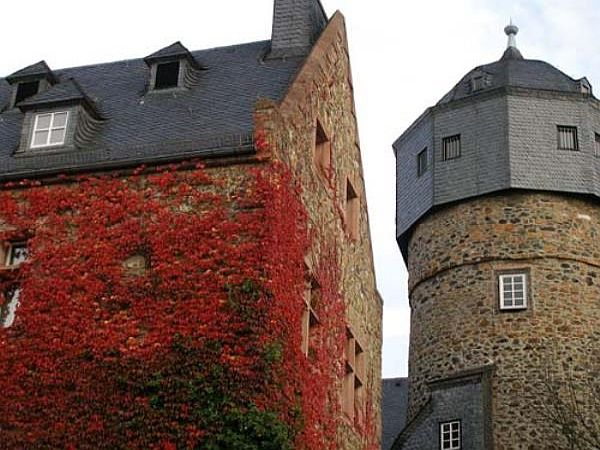 Old Castle in Autumn
