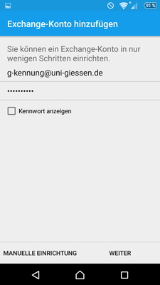 Android Exchange Anleitungs Bild 5