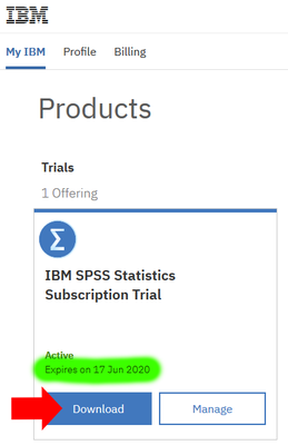 SPSS Trial Download