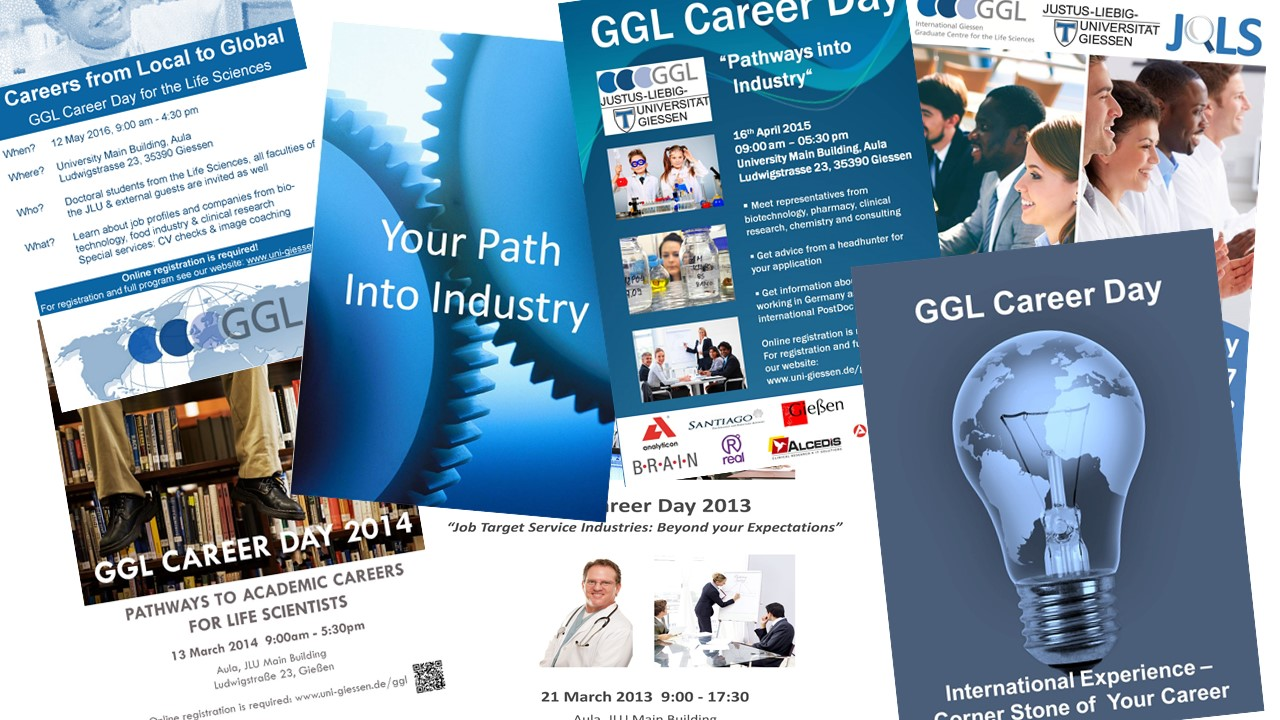 alte Career Day Poster