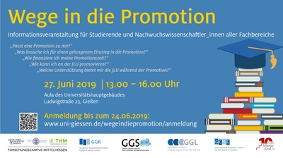 Wege in die Promotion 2019