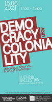 Poster Democracy Coloniality