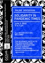 Flyer Solidarity in Pandemic Times