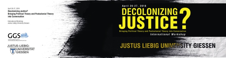 """Flyer """"WS: Decolonizing Justice_Cover"""""""