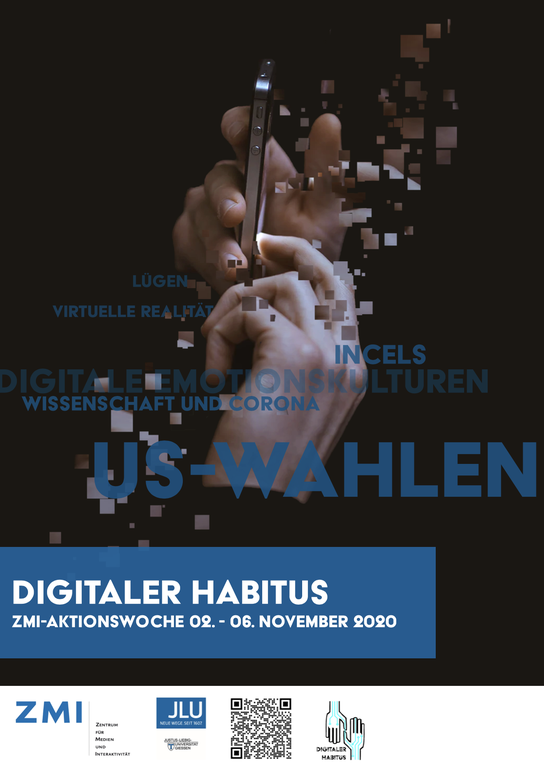 Poster Digitaler Habitus Aktionswoche