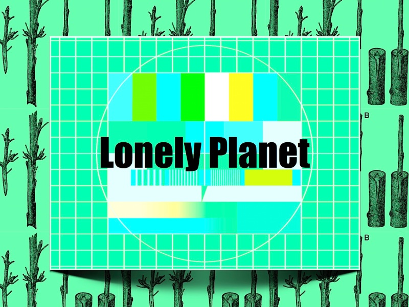 Plakat Lonely Planet