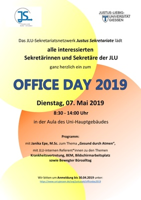 Office Day 2019 Flyer