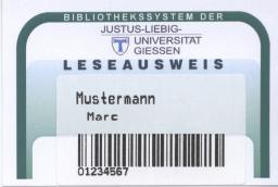 Leseausweis