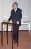 Bild Ausstellung Behaghel Prof. Gloning