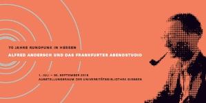 70 Jahre Rundfunk In Hessen Alfred Andersch Und Das Frankfurter