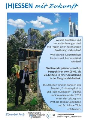 Plakat (H)Essen mit Zukunft