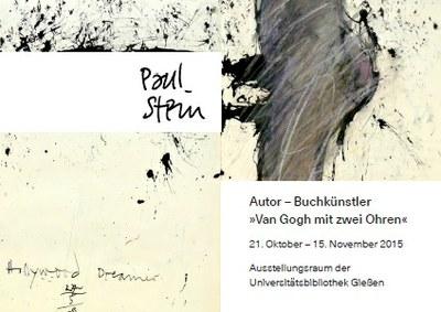Ausstellung Paul Stein